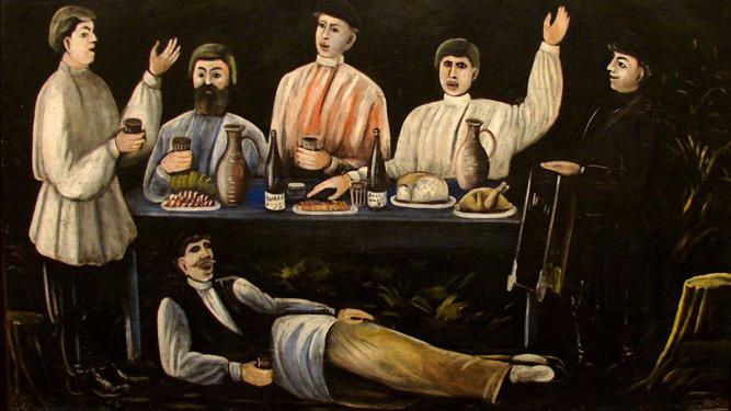 Georgian Paintings